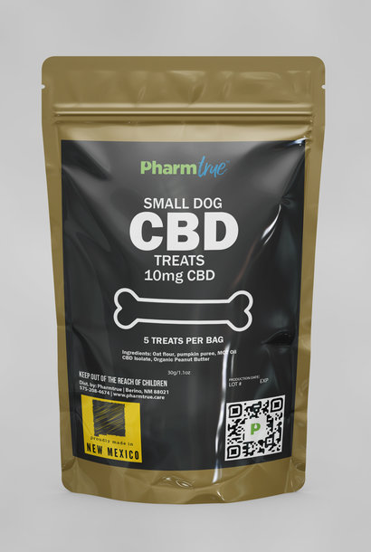 Hemp Dog Treats: Small 10mg CBD