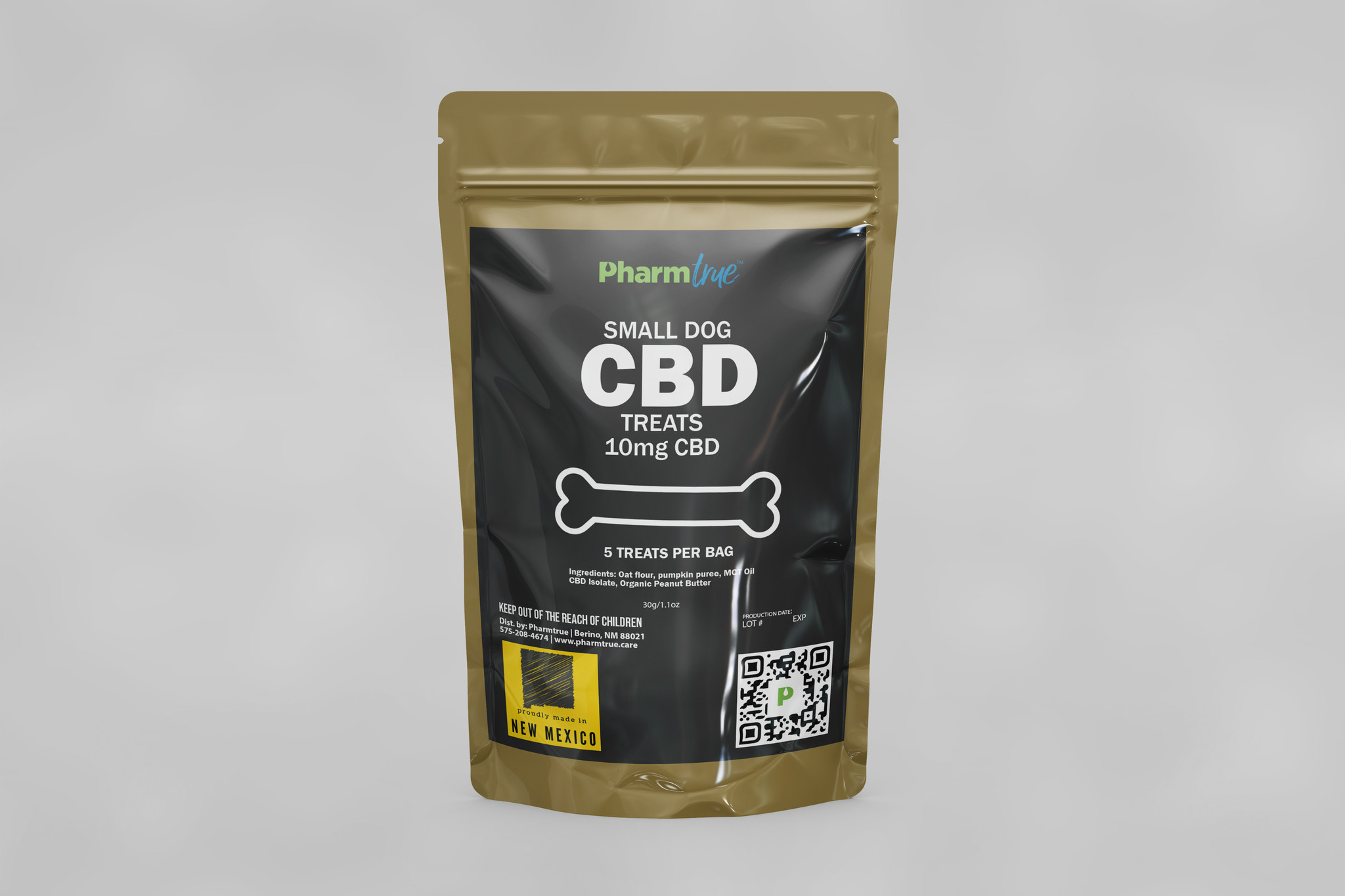 Hemp Dog Treats: Small 10mg CBD-1