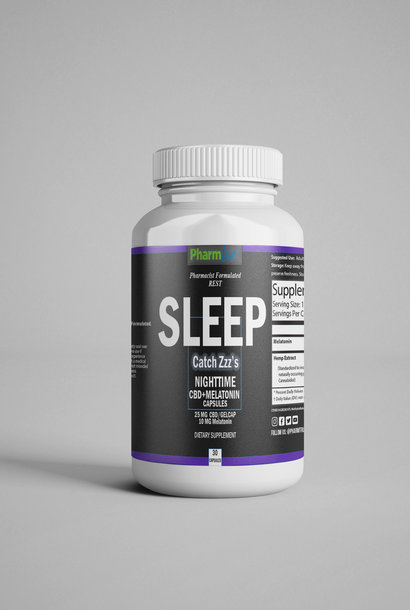SLEEP CBD & Melatonin Capsules