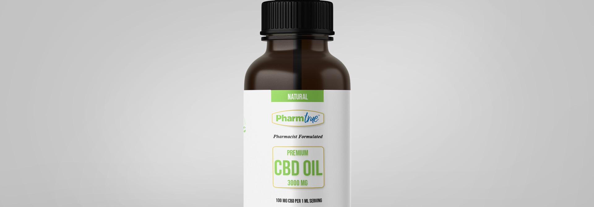 CBD OIL 3000 mg TINCTURE - Natural