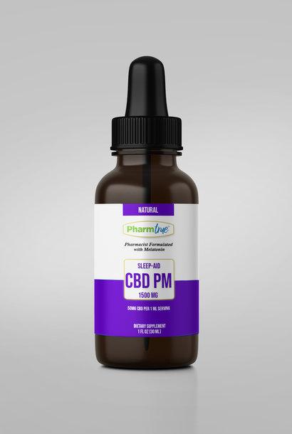 CBD PM OIL 1500mg + Melatonin TINCTURE