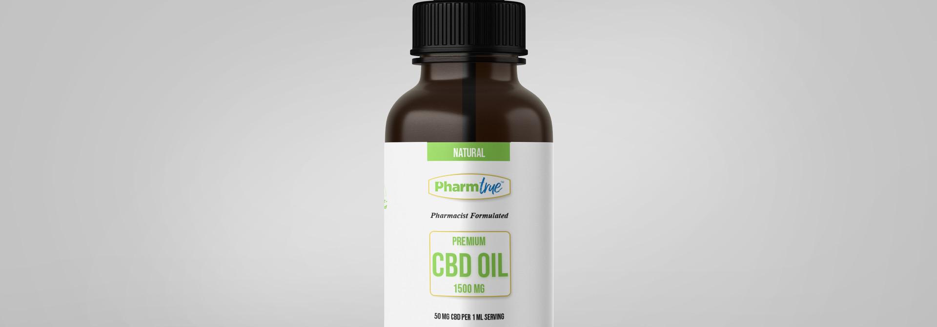 CBD OIL 1500 mg TINCTURE - Natural