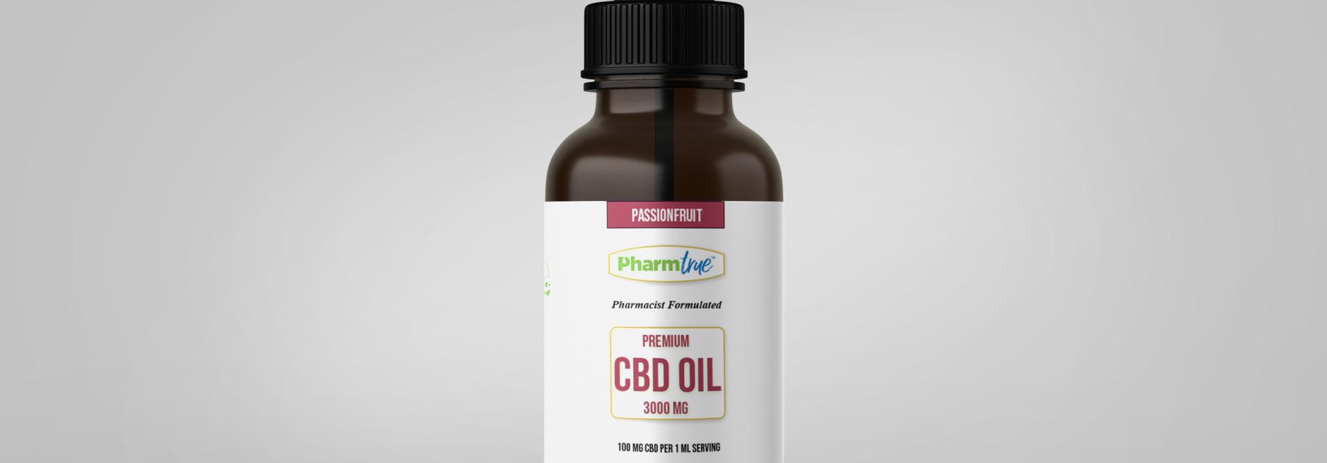CBD OIL 3000 mg TINCTURE - Passionfruit