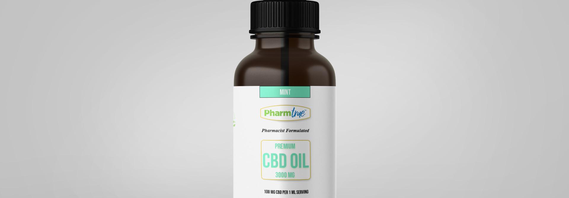 CBD OIL 3000 mg TINCTURE - Mint