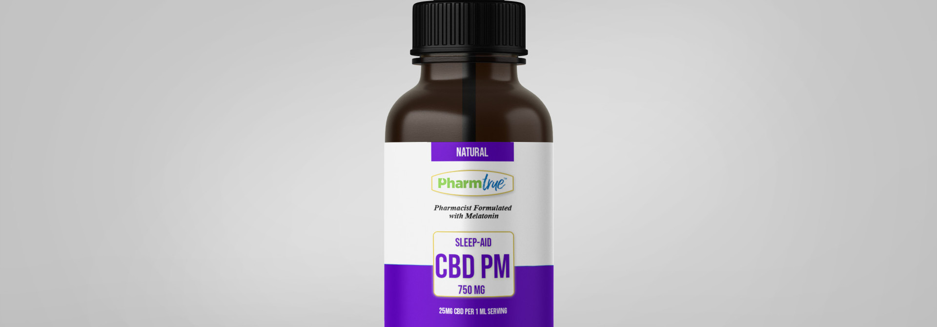 CBD PM OIL 750mg + Melatonin TINCTURE