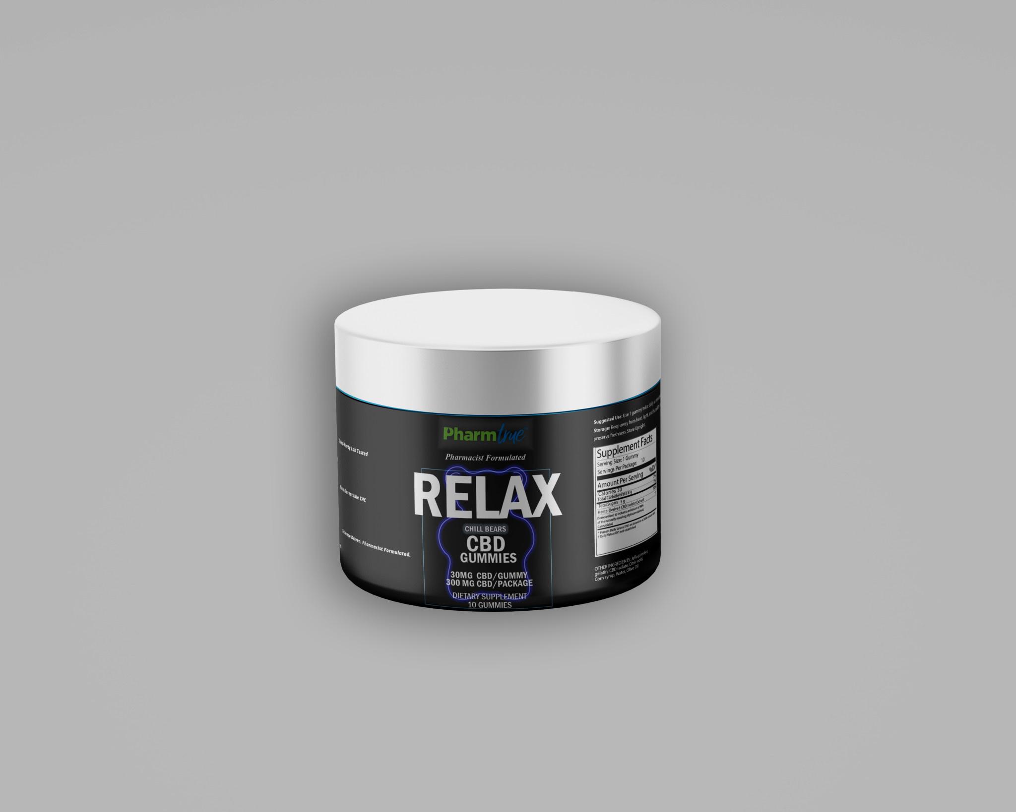Relax Bears | 30mg CBD | 10 ct-1