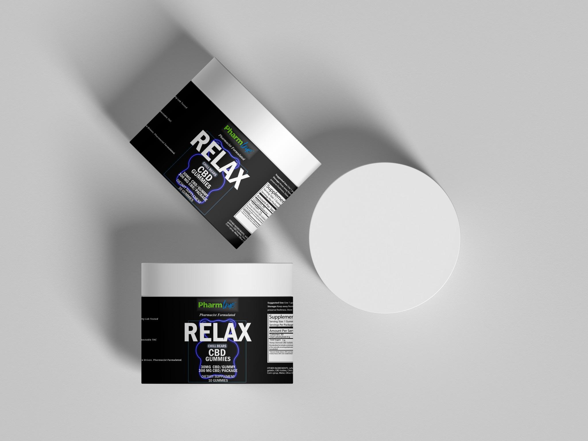 Relax Bears | 30mg CBD | 10 ct-2