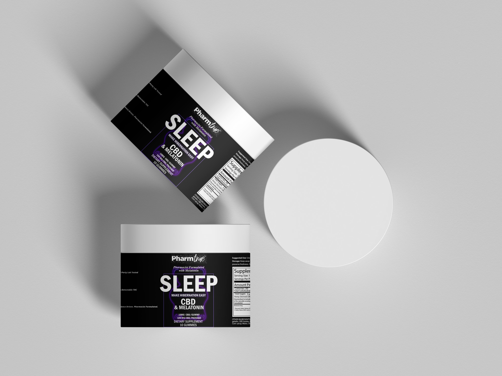 Sleep Bears | 10 mg CBD | 5 mg Melatonin | 10 ct-2