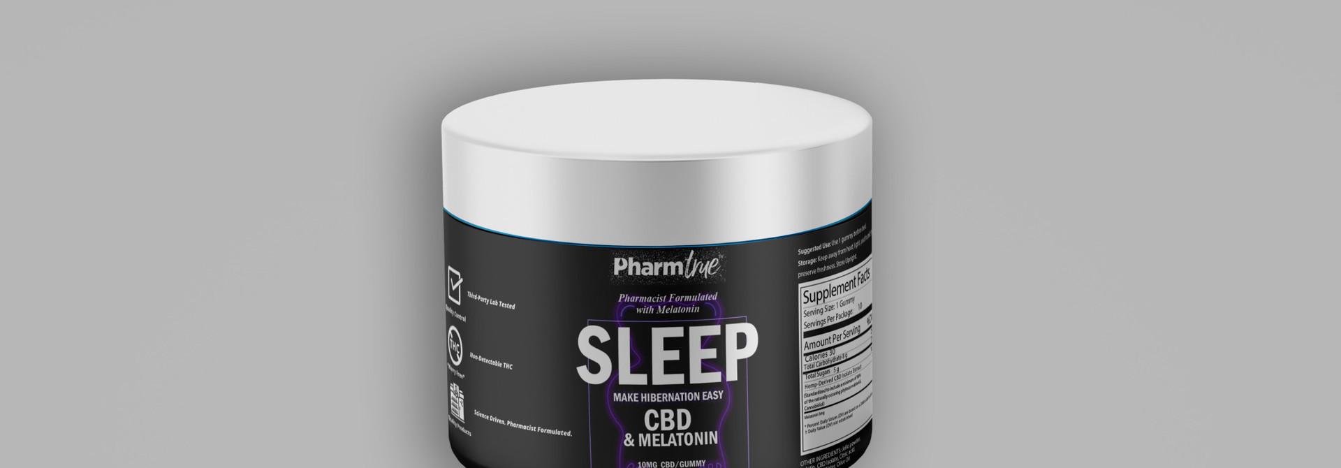 Sleep Bears | 10 mg CBD | 5 mg Melatonin | 10 ct