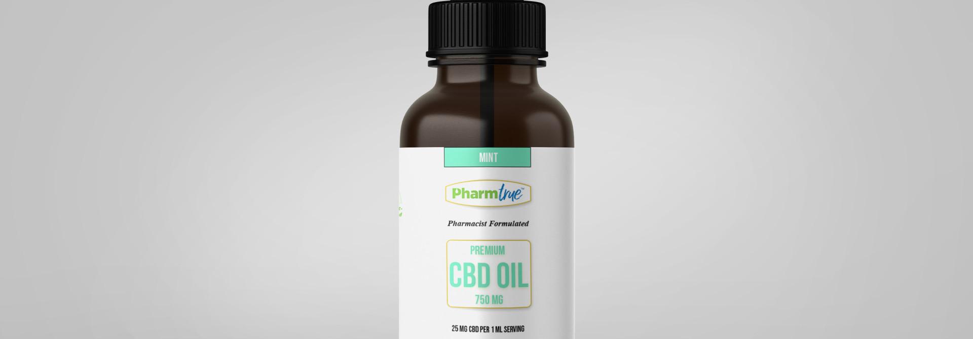 CBD OIL 750 mg TINCTURE - Mint