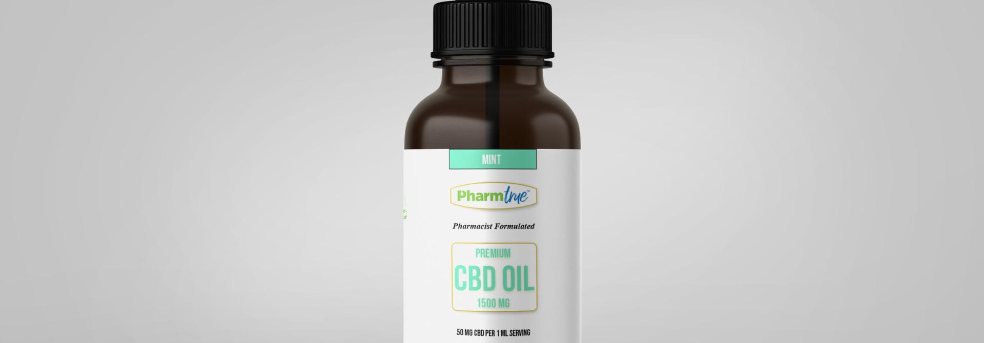 CBD OIL 1500 mg TINCTURE - Mint