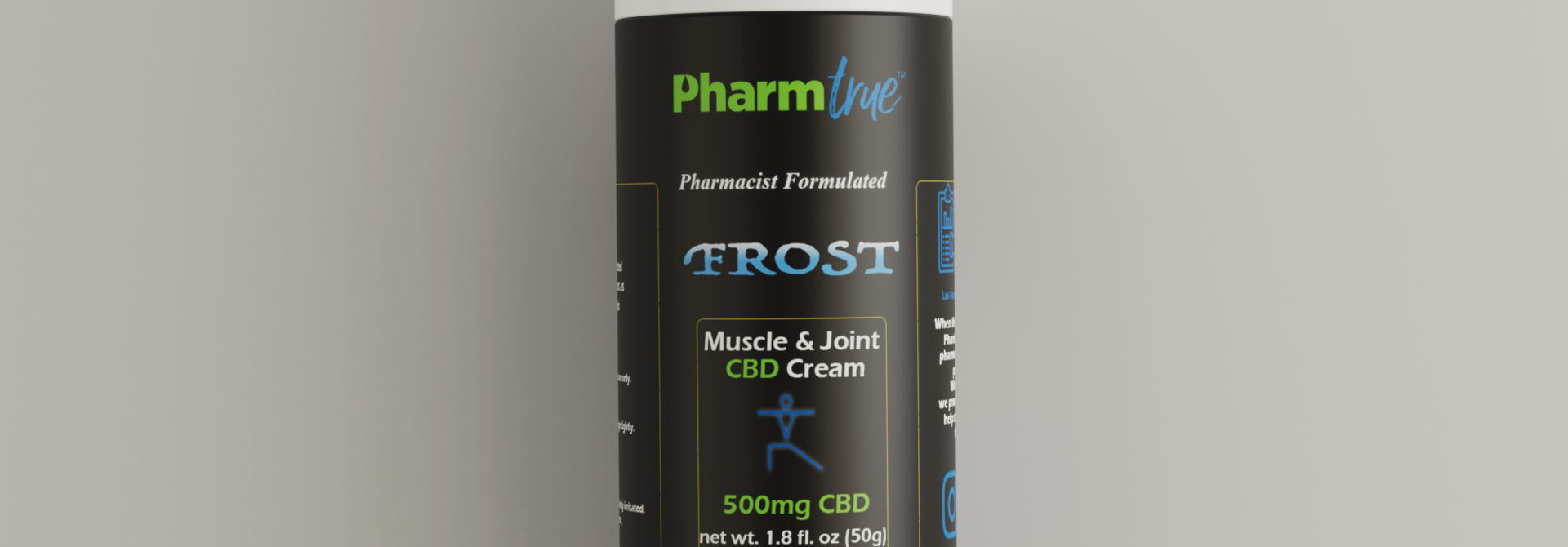 Frost Muscle & Joint Cream 500mg CBD 50 Grams