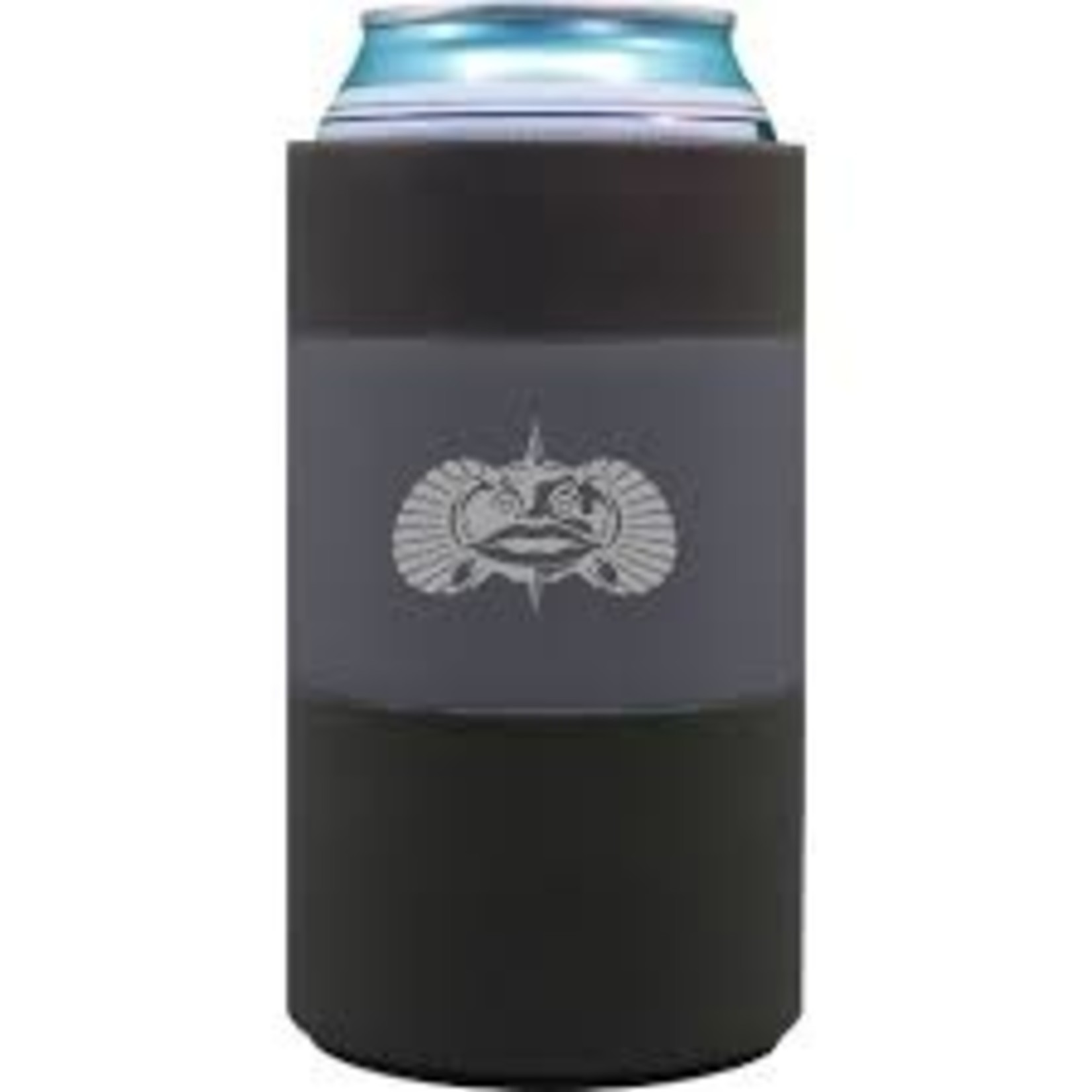 Toadfish Outfitters   Non-Tipping Can Cooler Grey