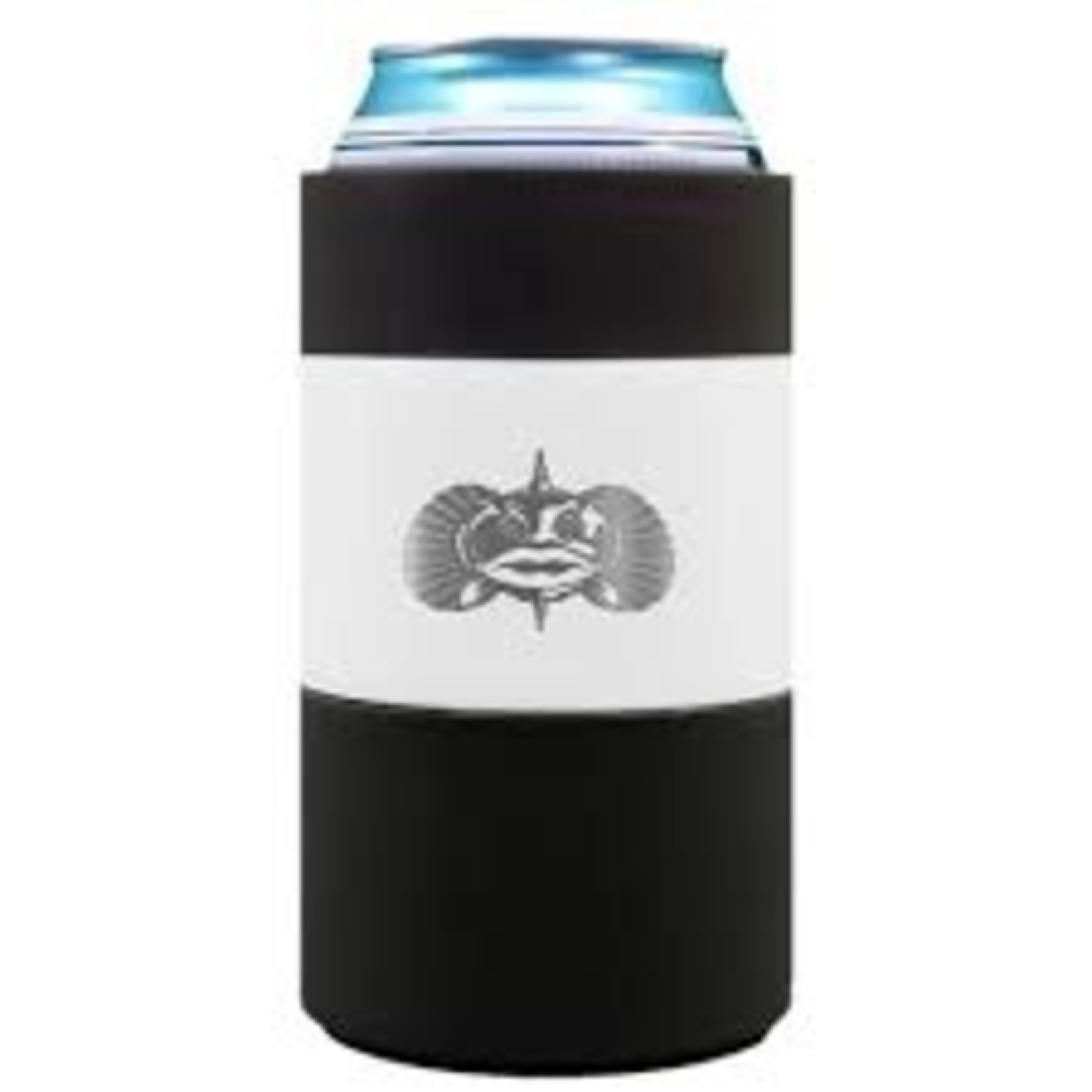 Toadfish Outfitters | Non-Tipping Can Cooler White