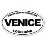 Marsh & Bayou Outfitters | Venice Decal 5""