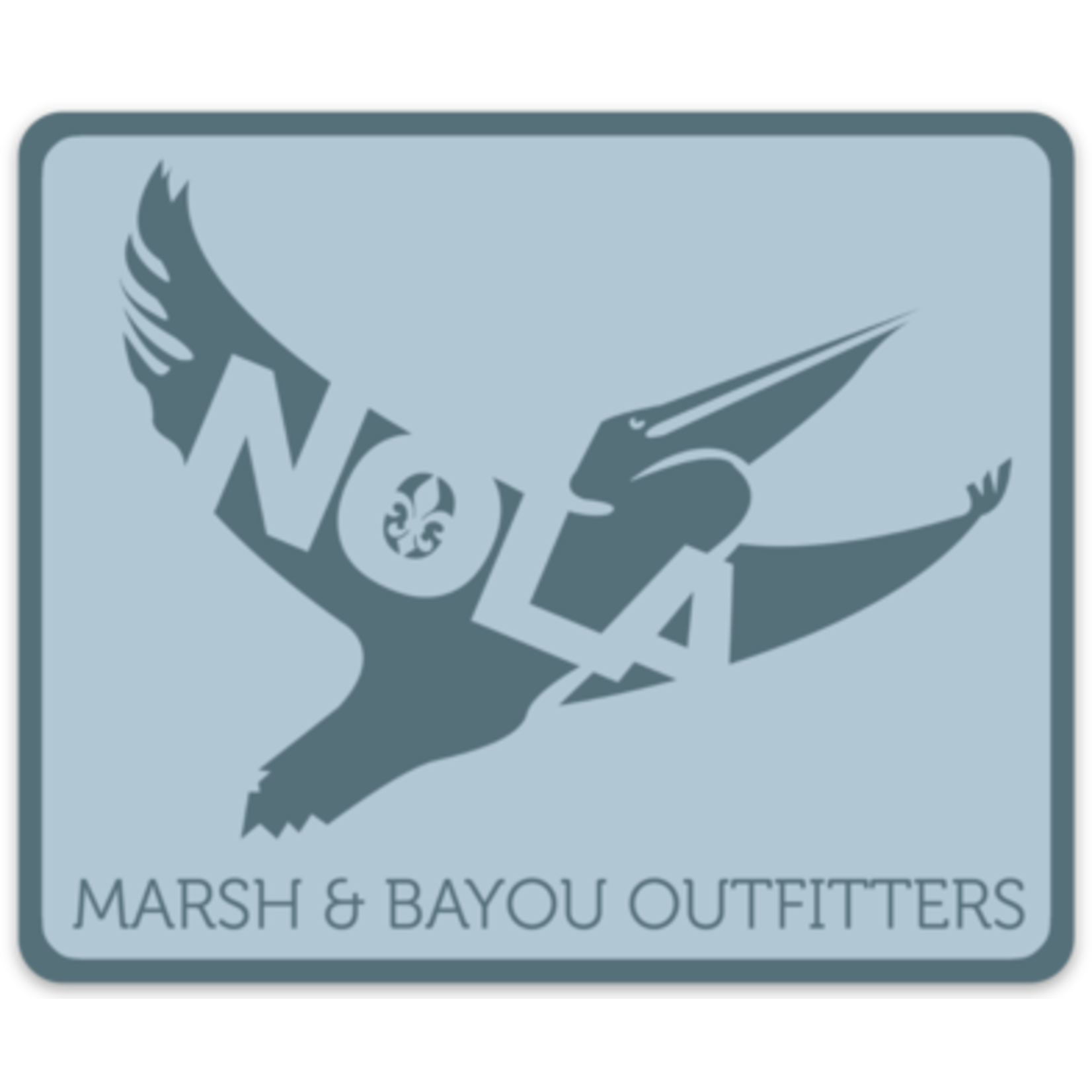 Marsh & Bayou Outfitters | Pelican Decal