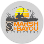 Marsh & Bayou Outfitters | Kayak Sunset Decal