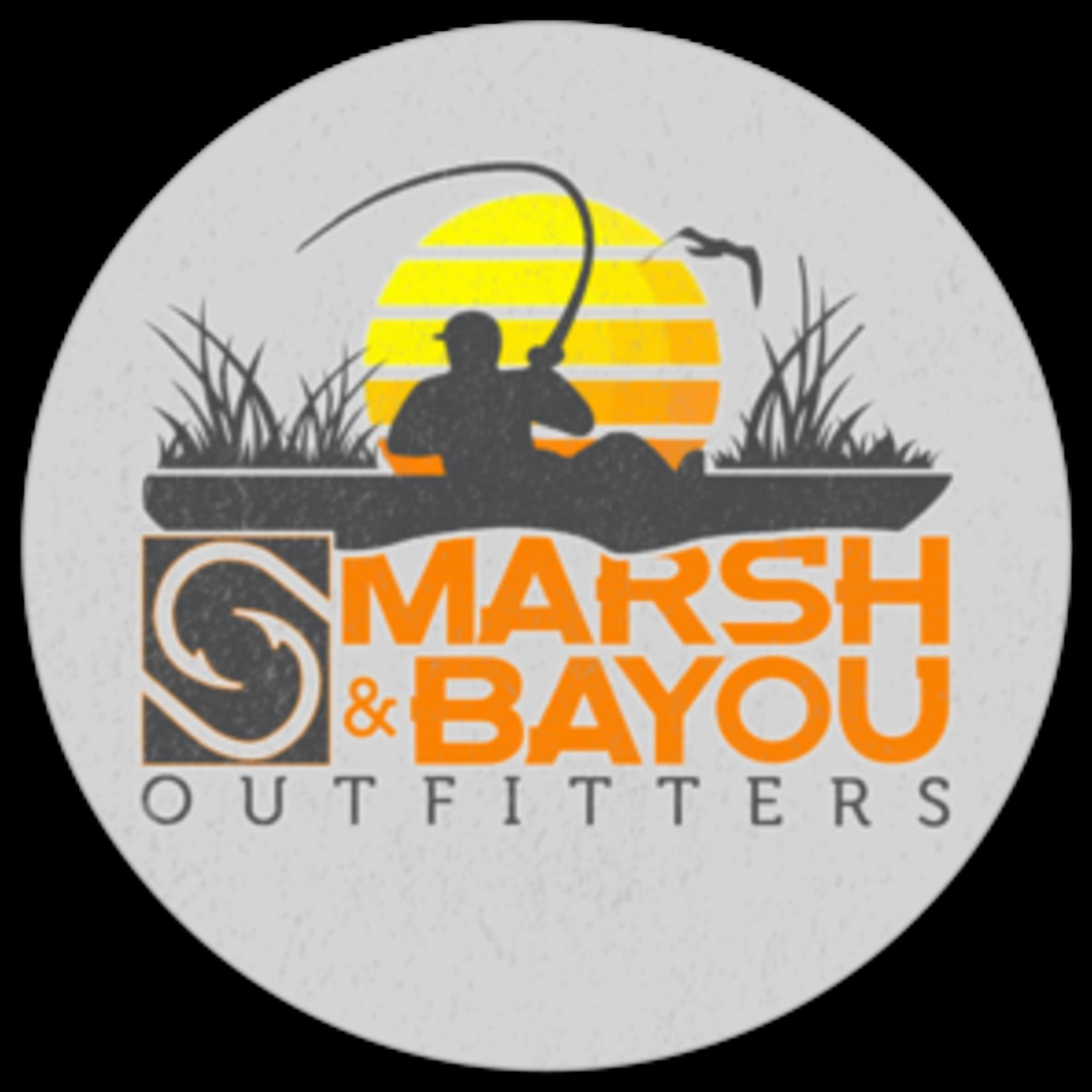 Marsh & Bayou Outfitters | Kayak Sunset Decal