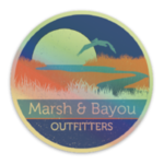 Marsh & Bayou Outfitters | Harvest Moon Decal