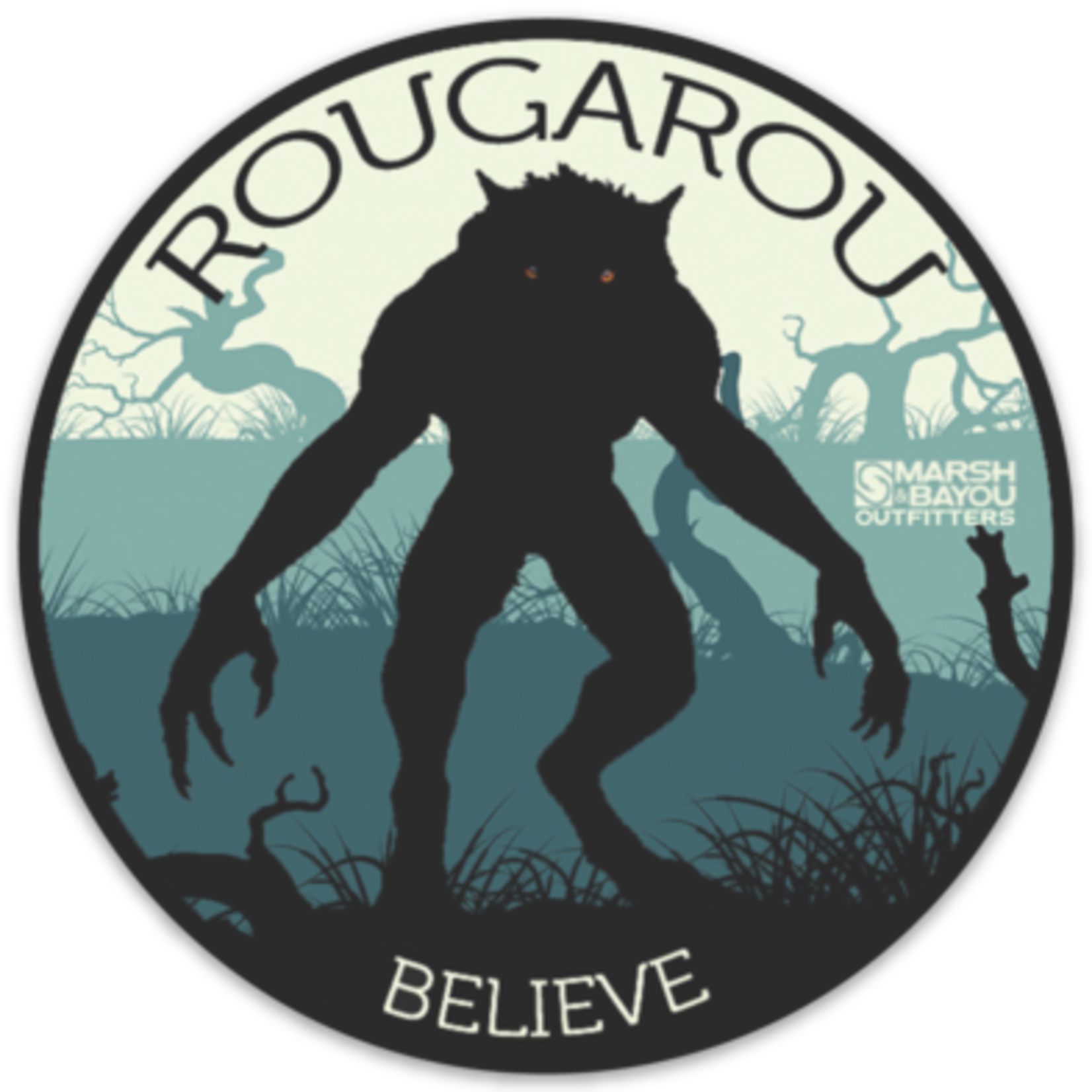 Marsh & Bayou Outfitters | Rougarou Decal
