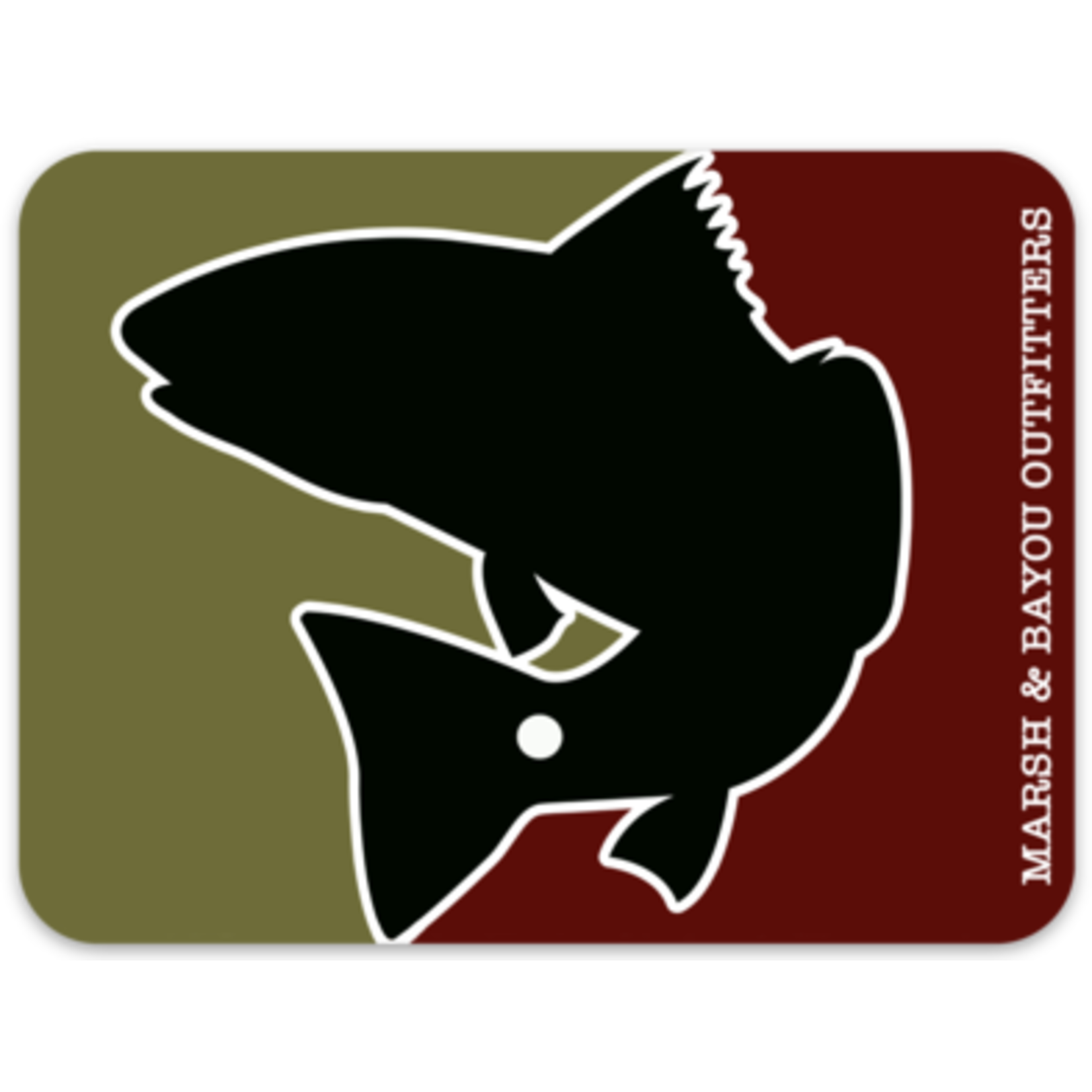 Marsh & Bayou Outfitters | ML Redfish Decal