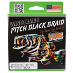 "FINS Braids | 15lb 150 yards ""Pitch Black"""