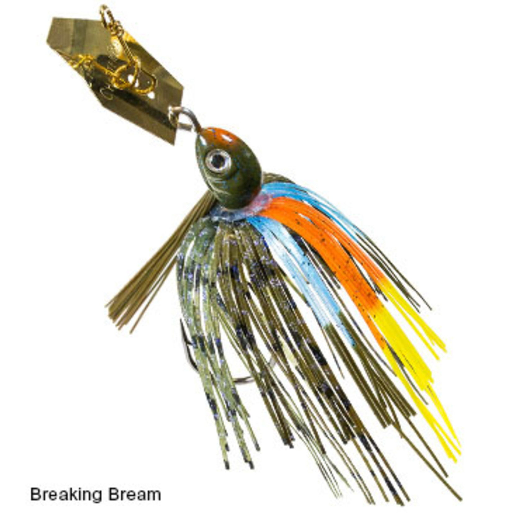 "Z-MAN | Weedless Project Z Chatter Bait 1/2oz ""Breaking Bream"""