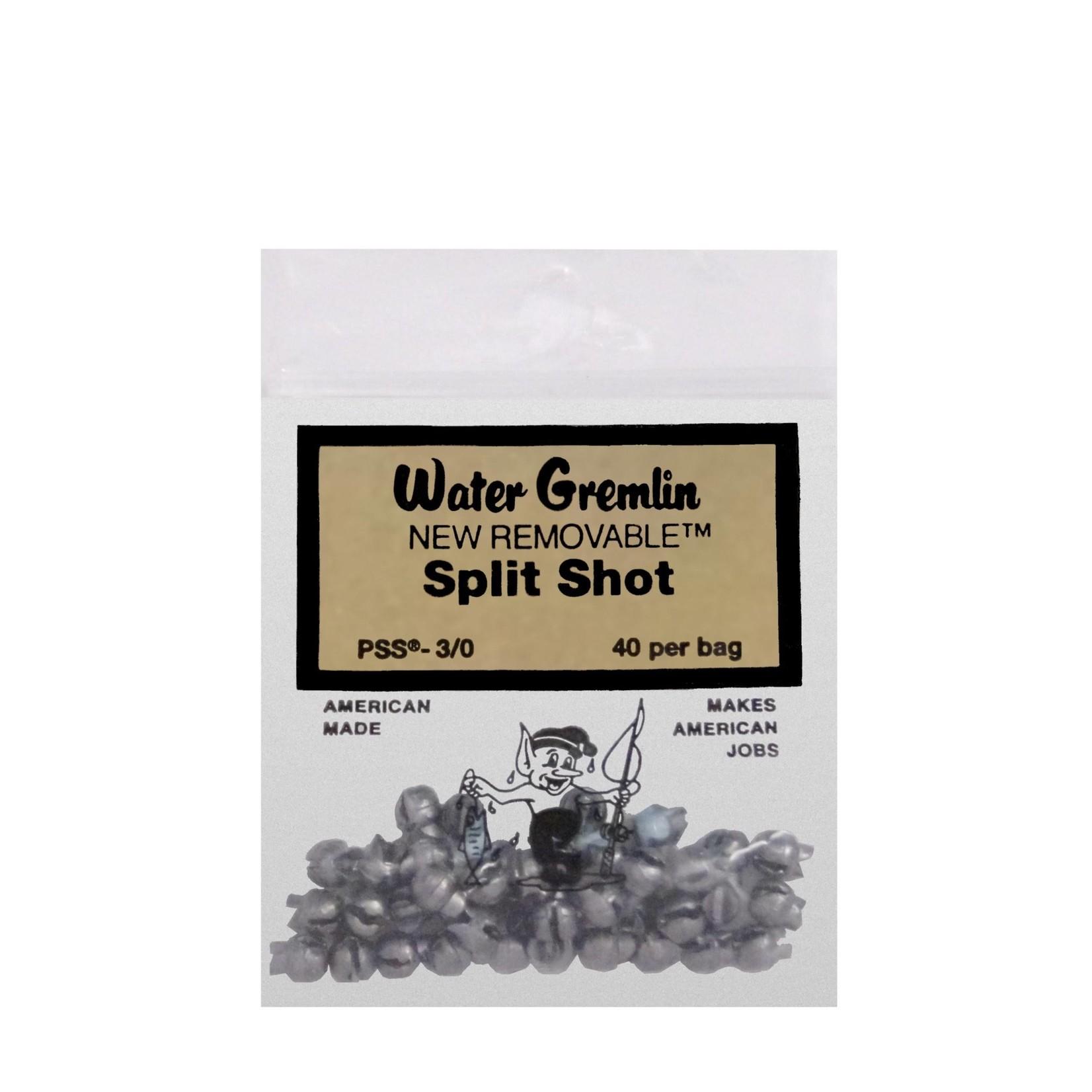 Water Gremlin | Split Shot 3/0