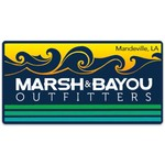 Marsh & Bayou Outfitters | Waves Decal