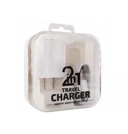 Lightning 2 In 1 Travel Charger