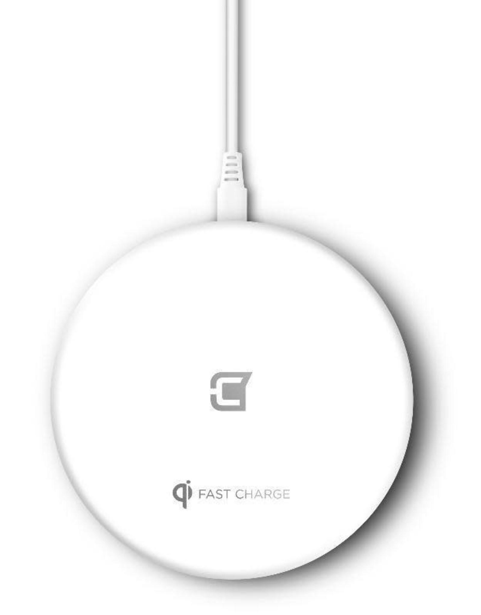 Caseco Caseco Nitro II Wireless Charging Pad - White