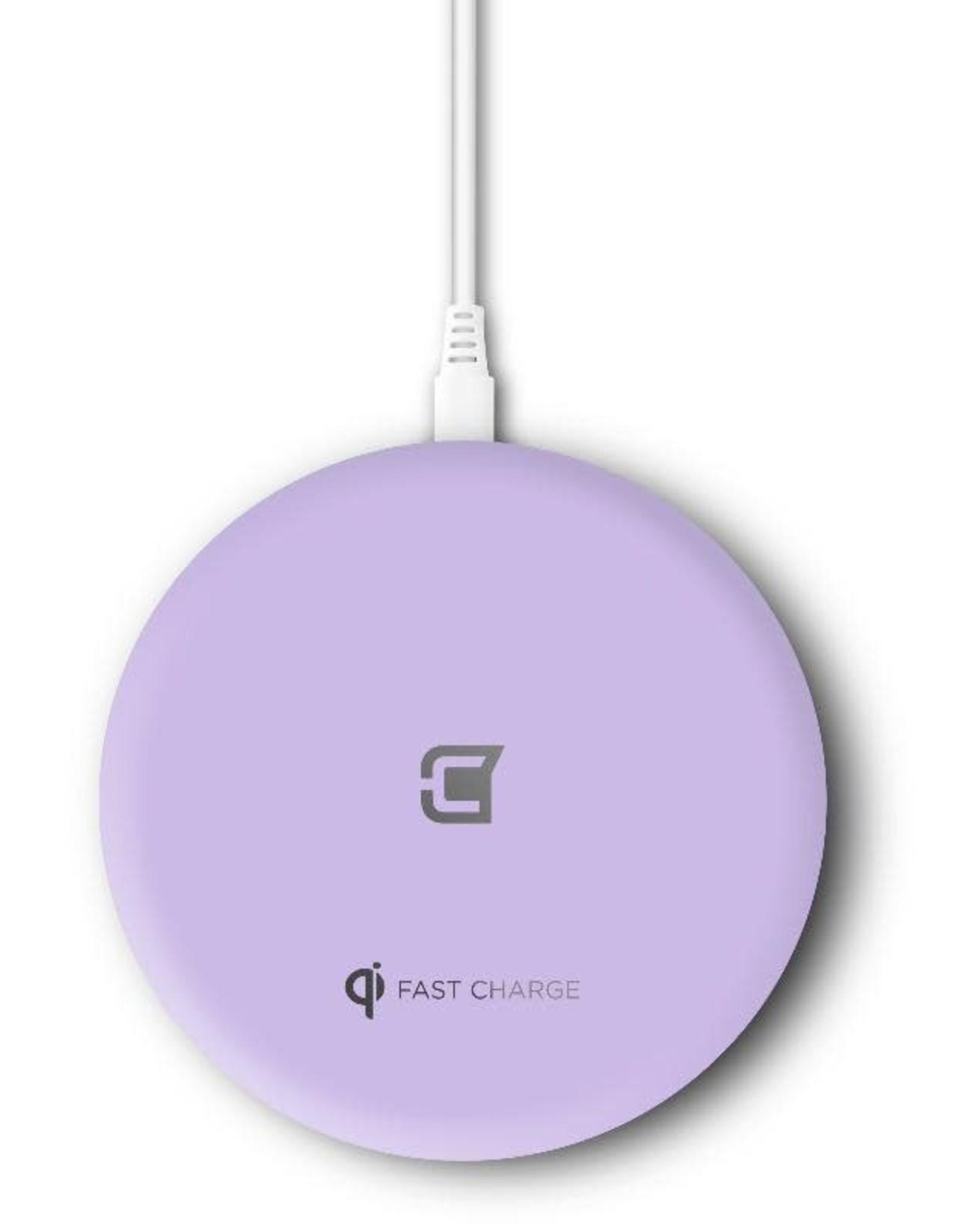 Caseco Caseco Nitro II Wireless Charging Pad - Purple