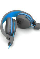 JLab Audio Neon BT Wireless On-Ear Headphones Blue/Grey