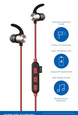 Blu Element Bluetooth Earbuds Red No Returns / NET Price