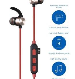 Blu Element Bluetooth Earbuds Red No Returns / NET Price