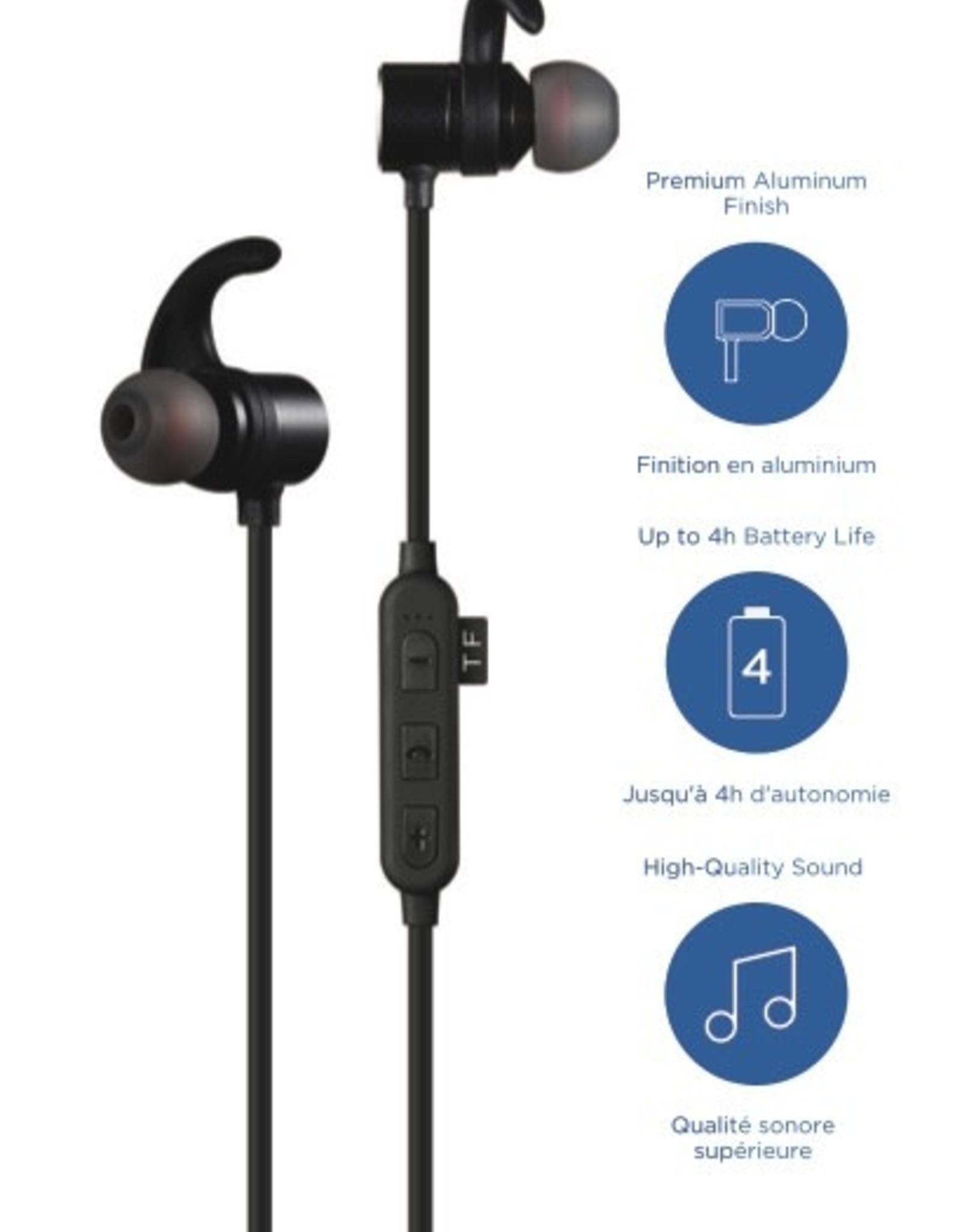 Blu Element VKB Bluetooth Earbuds Black No Returns / NET Price