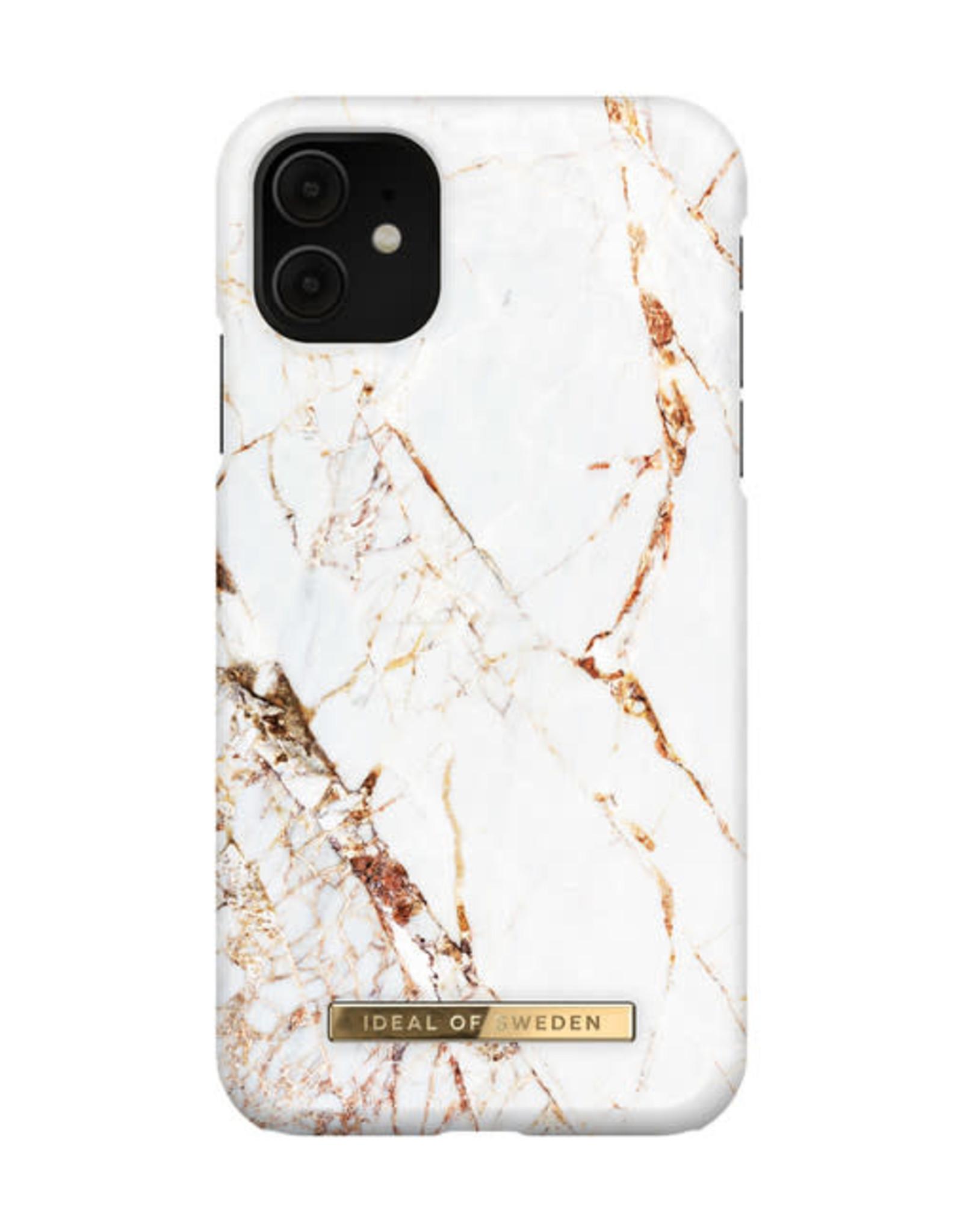 Ideal of Sweden Fashion Case iPhone 11/XR Carrara Gold