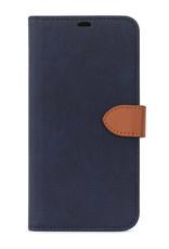 Blu Element 2 in 1 Folio iPhone 12 mini Navy/Tan