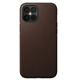 Nomad Rugged Leather Case iPhone 12 Pro Max Rustic Brown