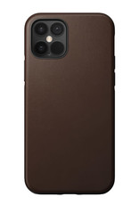Nomad Rugged Leather Case iPhone 12/12 Pro Brown