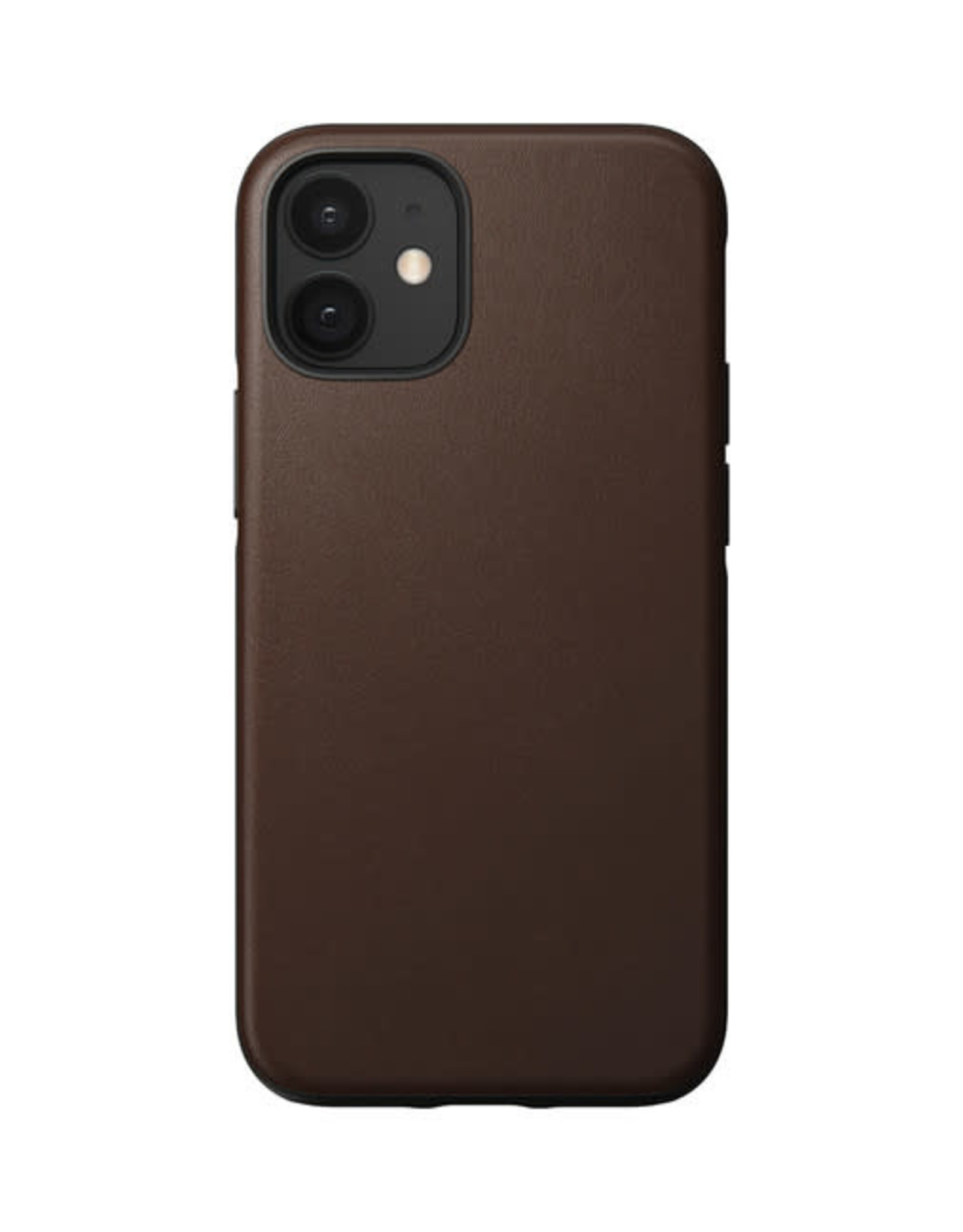 Nomad Rugged Leather Case iPhone 12 mini Rustic Brown