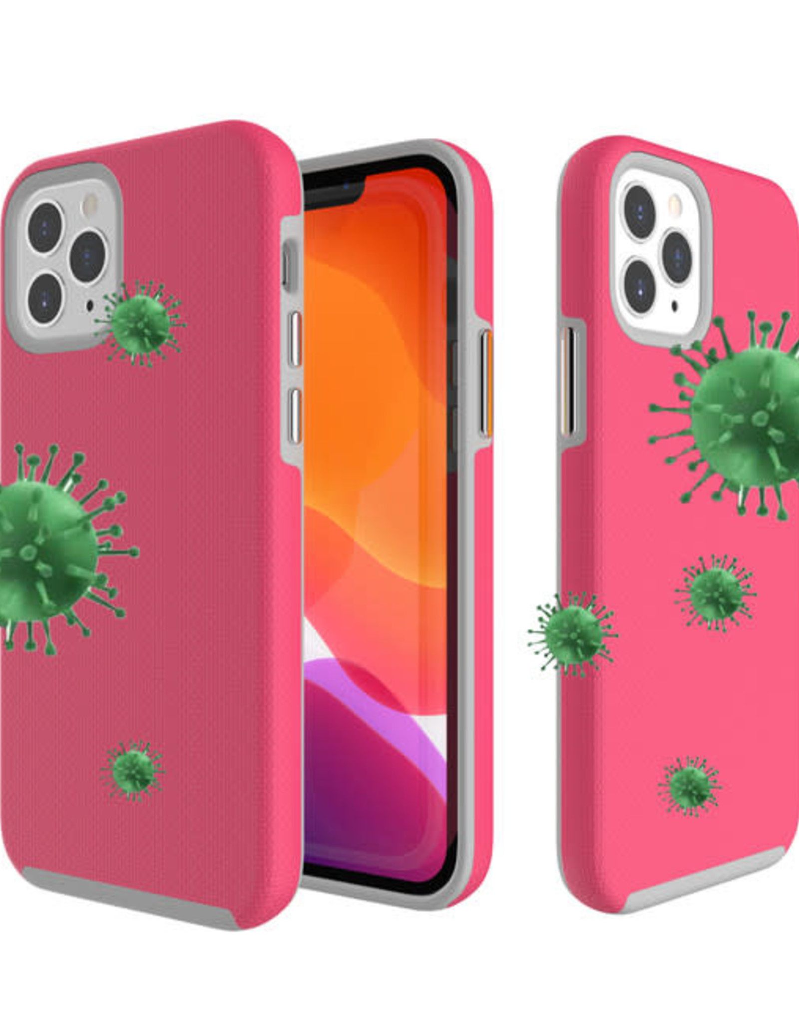 Blu Element Antimicrobial Armour 2X iPhone 12/12 Pro Pink