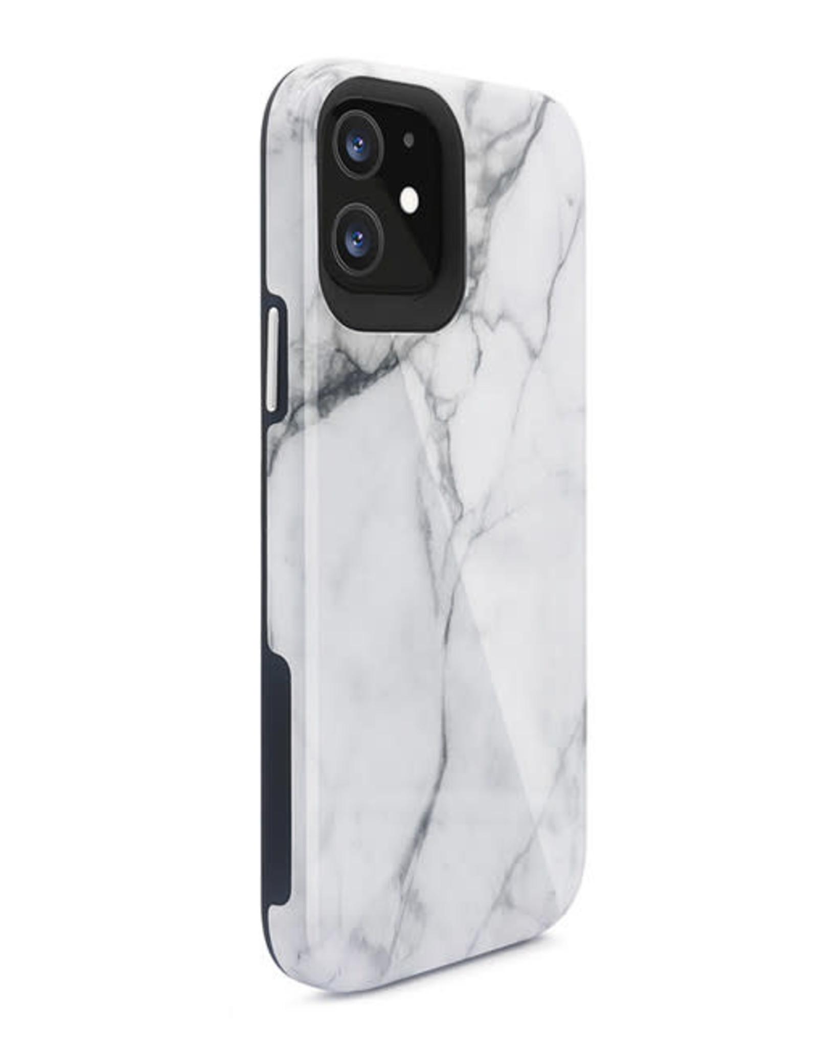 Blu Element Mist 2X iPhone 12 mini White Marble Glossy
