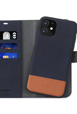 Blu Element 2 in 1 Folio iPhone 12/12 Pro Navy/Tan
