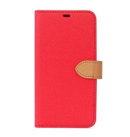 Blu Element 2 in 1 Folio iPhone 12/12 Pro Red/Butterum