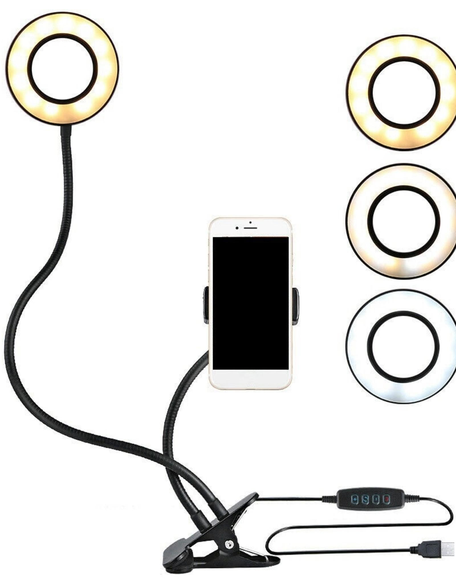 Selfie Ring light w/ Phone Holder