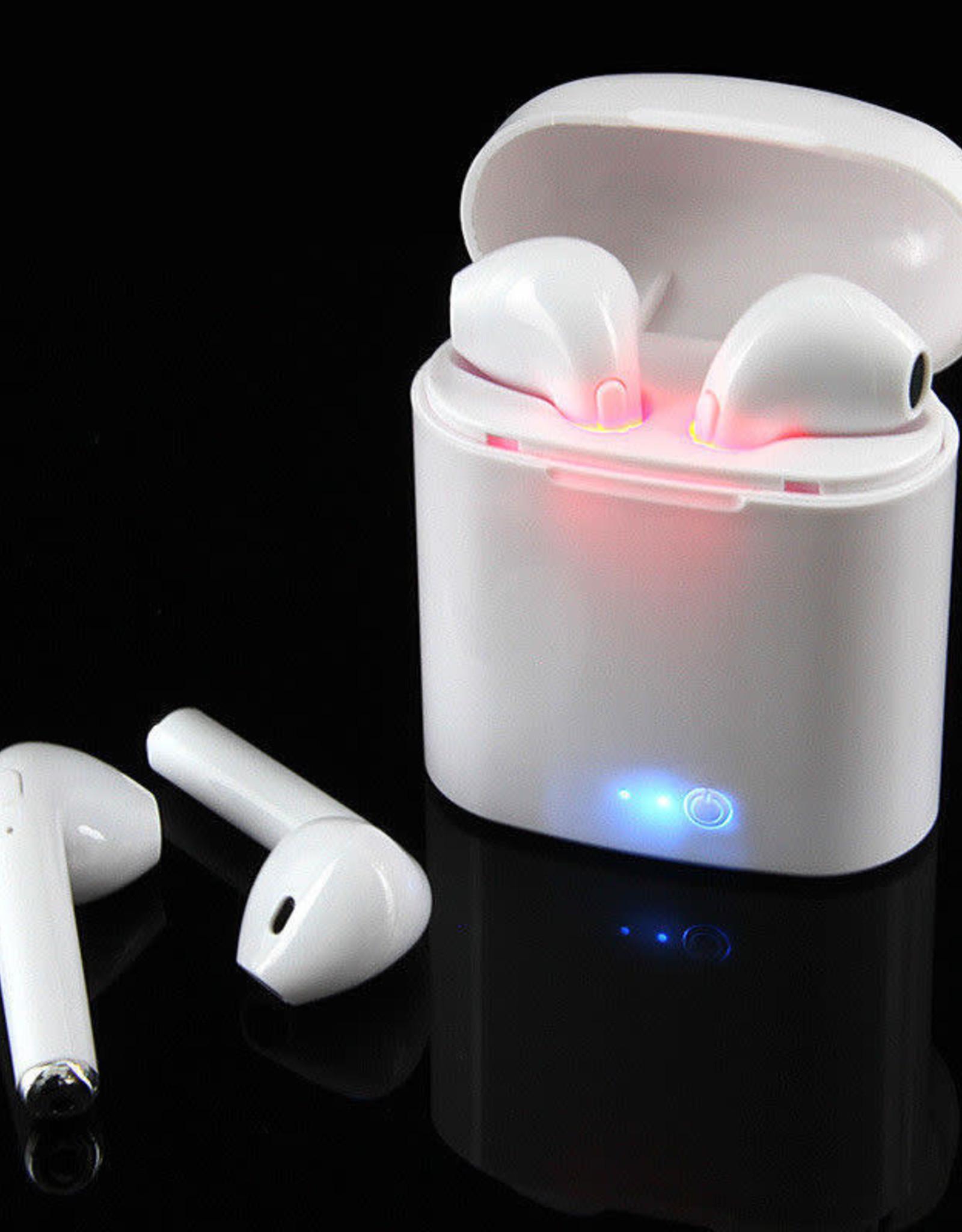 Bluetooth Wireless Earphones w/ Charging Case