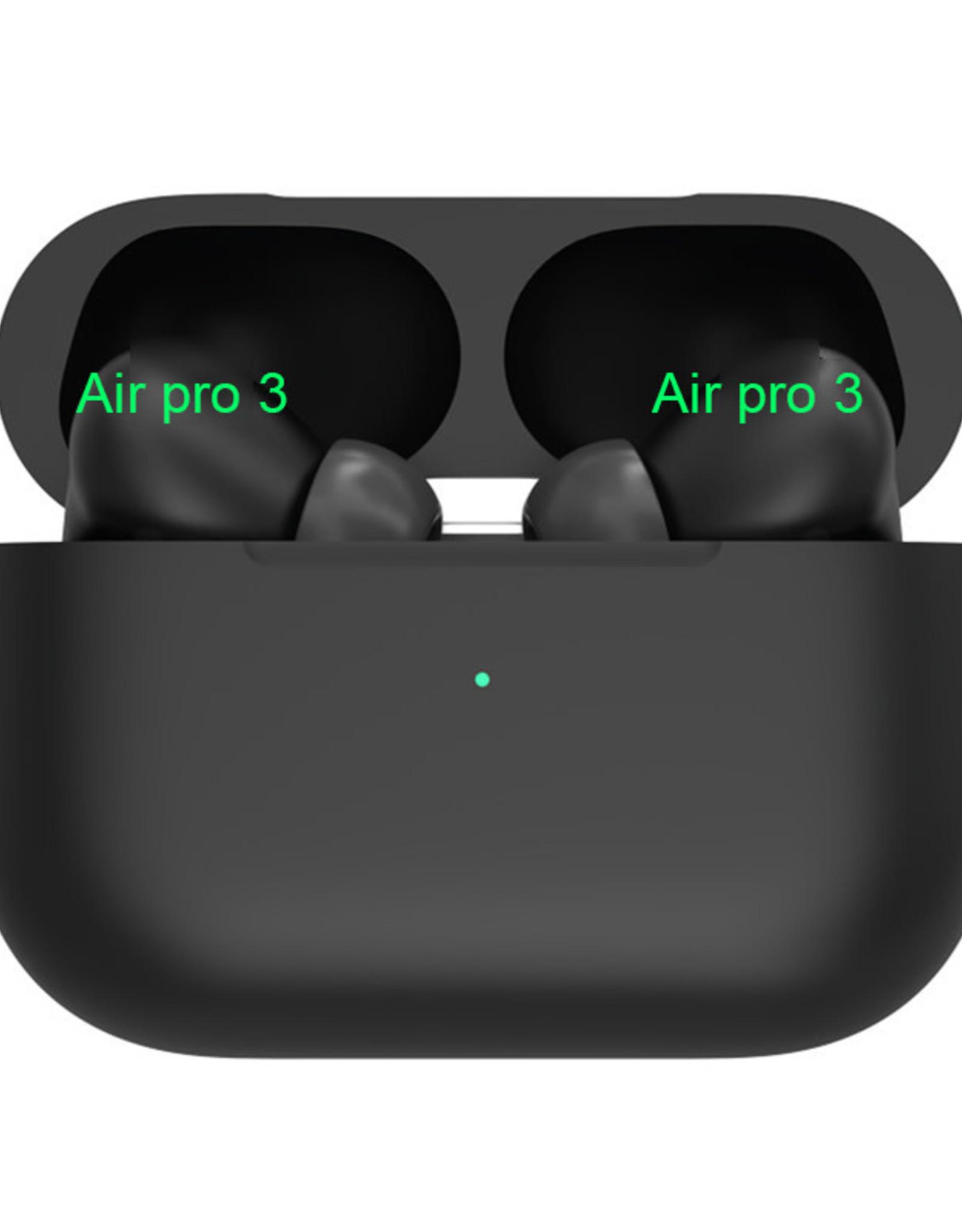 Air Pro 3 Wireless Bluetooth Earphones Black