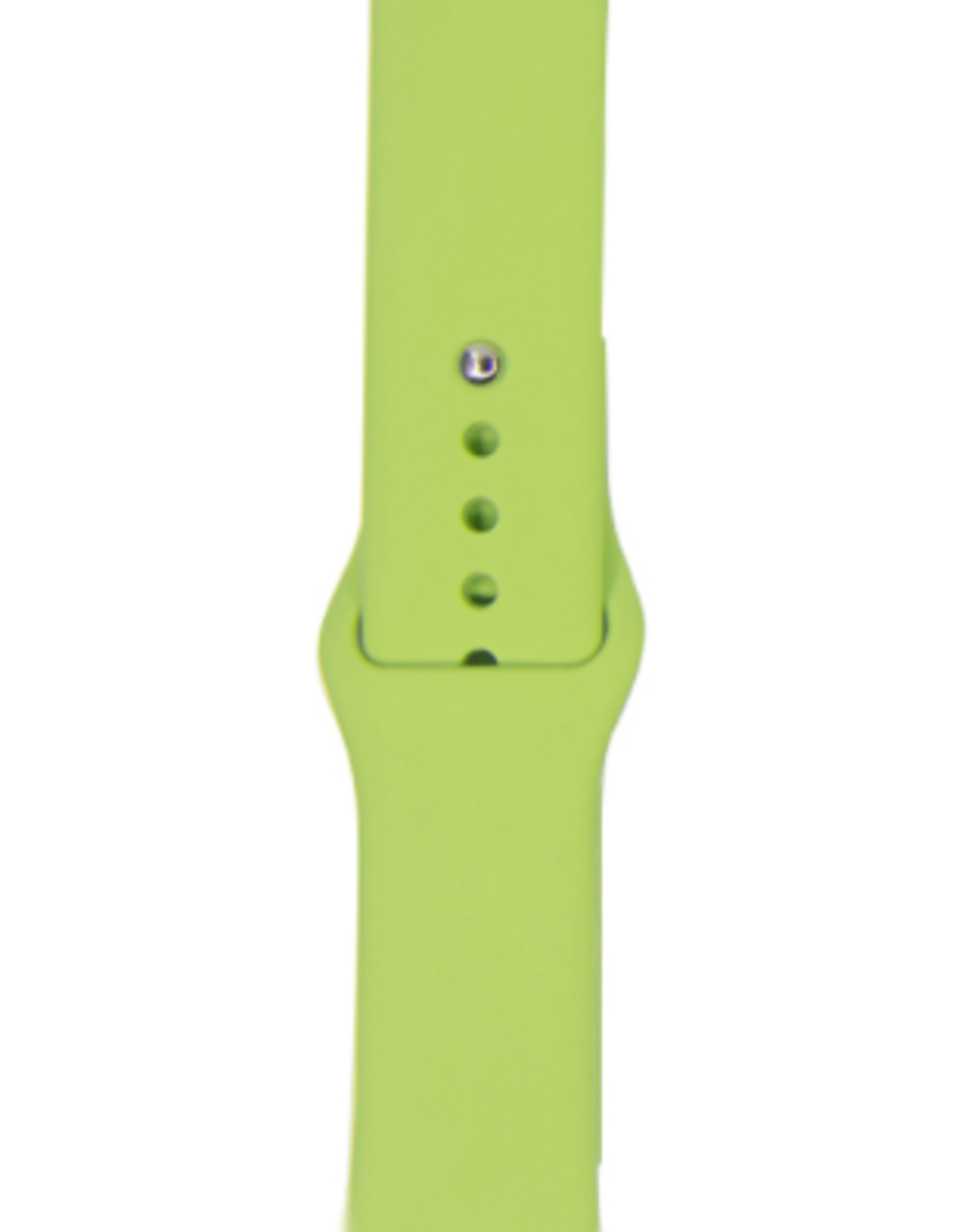 Classic silicone Apple Watch band Colour# 31 Mint 42/44mm S/M