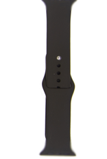 Classic silicone replacement band strap for Apple Watch band series 6 5 4 3 2 1 Band Color:# 37 dark olive,Band Width:42/44mm S/M